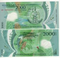 VANUATU  New  2'000 Vatu  Polimer  P14    2014    UNC - Vanuatu