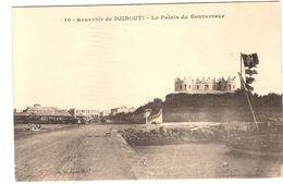 CPA Souvenir De Djibouti Le Palais Du Gouverneur Afrique - Gibuti