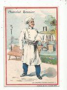 Chromo , Chocolat BESNIER ,les Gaufres Toutes Chaudes , Patissier , Métier , 2 Scans - Chocolat