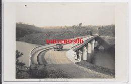 50 - Environs Ducey -carte Photo -vallée Du Lait  Pont,voiture, Débardeur Avec Ses Chiens ,6 Fevrier 1932 - Ttb - Autres Communes