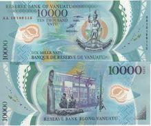 VANUATU  New  10'000 Vatu  Polimer  P17    2010    UNC - Vanuatu