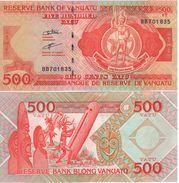 VANUATU   500 Vatu   ( De La Rue 2007)  PNL  Signature A  2007    UNC - Vanuatu