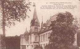 Cp , 21 , CHÂTILLON-sur-SEINE , Château Marmont , Brûlé Par Les Allemands En 1870, Il Fut Reconstruit - Chatillon Sur Seine