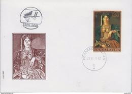 YOUGOSLAVIE  FDC 1971 TABLEAU N° YT  1325 - FDC