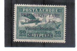 MAG704 ALBANIEN 1928  MICHL  165  OHNE GUMMI SIEHE ABBILDUNG - Albania