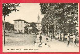 CPA - 07 - ARDECHE - AUBENAS - LE JARDIN PUBLIC - Aubenas