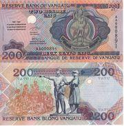 VANUATU   200 Vatu   Commemorative  Issue  ( De La Rue  1995 )  P9      UNC - Vanuatu