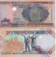 VANUATU   200 Vatu   ( De La Rue  1995 )  P8a   UNC - Vanuatu