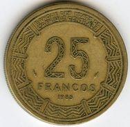 Guinée Equatoriale Equatorial Guinea 25 Francos 1985 KM 60 - Equatorial Guinea