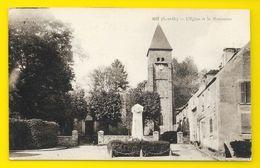 GIF Rare L'Eglise Et Le Monument (UPP) Essonne (91) - Gif Sur Yvette