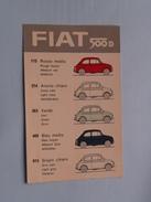 FIAT 500 D ( Gros Monti & C. ) Anno 19?? ( Details : Zie Foto's ) !! - Otros