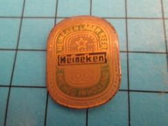Pin513d Pin's Pins / Rare Et De Belle Qualité !! BIERES / ETIQUETTE DE BIERE HEINEKEN - Beer