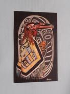 The SHAMAN - PACIFIC NORTHWEST And ALASKA INDIANS ( A Jalaine Card ) Anno 19?? ( Details : Zie Foto's ) !! - Vereinigte Staaten
