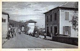 ANDORA STAZIONE - VIA AURELIA - SAVONA  - VIAGGIATA - Savona