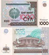 UZBEKISTAN    1'000 Sum   P82  2001  UNC - Uzbekistan