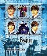 """GUINEA BISSAU 2005 - The Beatles, """"Yellow Submarine"""" - YT 2122-7 - Stripsverhalen"""