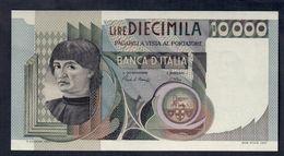 10000 LIRE Del Castagno 03 11 1982 Sup+ LOTTO 222 - [ 2] 1946-… : Republiek