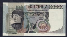 10000 LIRE Del Castagno 03 11 1982 Sup+ LOTTO 222 - [ 2] 1946-… : República