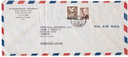 JZ265   Turkey Air Mail Cover Sent To British Zone Germany 1948 - Lettres & Documents