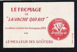 Buvard Publicitaire / Le Fromage De La Vache Qui Rit - Dairy