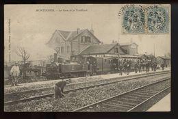 Montdidier La Gare Et Le Tortillard - Montdidier