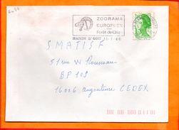 DEUX SEVRES, Beauvoir Sur Niort, Flamme SCOTEM N° 6084 - Marcophilie (Lettres)