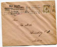 6_54 Lettre Sans Correspondance Leipzig 8.3.24 - Lettres & Documents