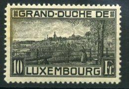LUXEMBOURG ( POSTE ) : Y&T N°  141  TIMBRE  NEUF  AVEC  TRACE  DE  CHARNIERE  , ROUSSEUR , A  VOIR . - 1921-27 Charlotte Voorzijde
