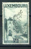 LUXEMBOURG ( SERVICE ) : Y&T N°  196  TIMBRE  NEUF  AVEC  TRACE  DE  CHARNIERE  PLIURE  AU  CENTRE , A  VOIR . - Dienstpost