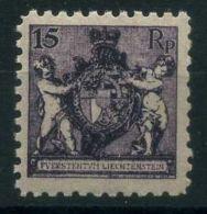 LIECHTENSTEIN ( POSTE ) : Y&T N°  51B  TIMBRE  NEUF  SANS  TRACE  DE  CHARNIERE , A  VOIR . - Unused Stamps