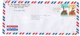 JZ267   Malaysia 1984 Commercial Cover Ipoh Perak To Germany Stamps Traditional Weapons 293/294 - Malesia (1964-...)