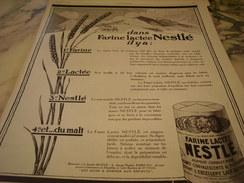 ANCIENNE PUBLICITE FARINE LACTEE  NESTLE    1927 - Posters