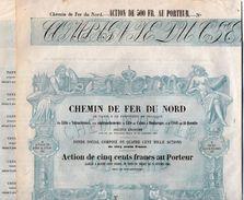 VP11.524 - Action - PARIS  - Chemin De Fer Du Nord Par LILLE - VALECIENNES - CALAIS - DUNKERQUE - CREIL - ST QUENTIN - Chemin De Fer & Tramway