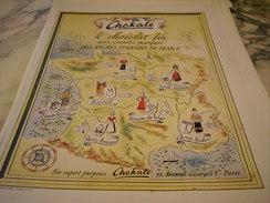 ANCIENNE PUBLICITE CHOCOLAT FIN  DE  CHOKATE 1948 - Posters