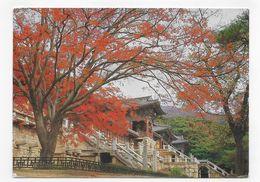 (RECTO / VERSO) COREE - WHOLE SIGHTS OF PULKUK TEMPLE IN KYONGJU - BEAU TIMBRE - CPM GF VOYAGEE - Corea Del Sud