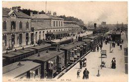 Côtes D'Armor - SAINT-BRIEUC - La Gare Intérieure - Trains - 1914 - Saint-Brieuc