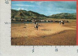 CARTOLINA NV MONGOLIA - Horseman - Tsetserlig Somon - Hubsugul Aimak - 10 X 15 - Mongolia