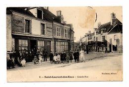 D 41 SAINT LAURENT DES EAUX . Grande Rue - France