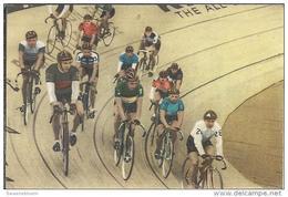 0066. Zesdaagse - Wielrennen.  Blue Band - Sportboek: 40 Sporten In Woord En Beeld. 2 Scans - Wielrennen