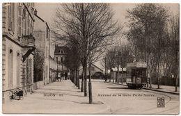 Dijon : Avenue De La Gare Porte Neuve (Editeurs Marchet, Bauer Et Cie, Dijon, N°51) - Dijon