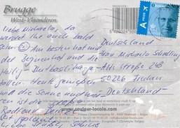 Belgien Gent TGST 2017 1 Europe A Prior Luftpost Flugzeug - Briefe U. Dokumente