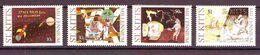 St. Kitts - 1999 New Millennium - Children's Paintings  4v  Mint ** - St.Kitts And Nevis ( 1983-...)