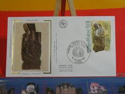 Coté 2,50€ > Zadkine, Femme à L'éventail > 19.1.1980 > Paris > FDC 1er Jour - 1980-1989