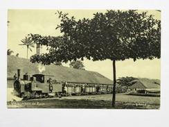 C.P.A. SAO TOME : Um Comboio De Roça, Trem - Sao Tome And Principe