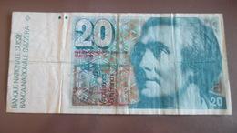 1 Billet Suisse De 20 Francs - Suisse