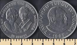 Tonga 50 Seniti 1985 - Tonga