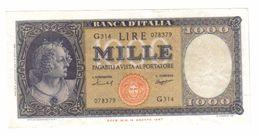1000 LIRE ITALIA MEDUSA 25 08 1959 SPL FRESCHISSIMO LOTTO 818 - 1000 Lire