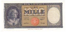 1000 Lire 15 09 1959 Italia Medusa Sup   LOTTO 863 - 1000 Lire