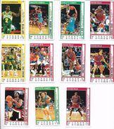 11 TRADING CARDS NBA BASKETBALL VINTAGE - Lots