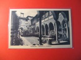 CARTOLINA  GALLARATE CHIOSTRINO S FRANCESCO    FORMATO PICCOLO     D  1906 - Varese